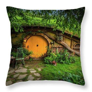Hobbiton Afternoon Throw Pillow