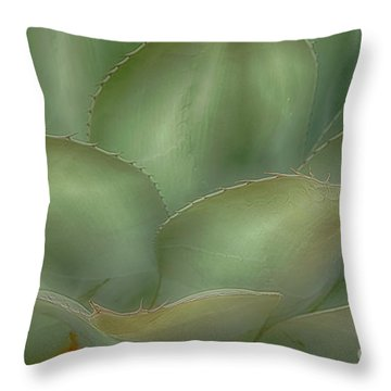 Agave Softened Throw Pillow