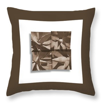 Throw Pillow featuring the photograph Agaves by Mark Shoolery