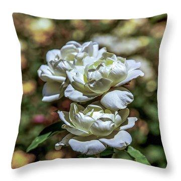 Aging Gracefully Throw Pillow