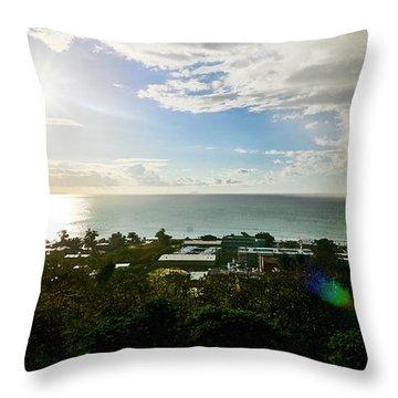 Aguada Sunset Throw Pillow