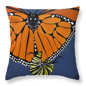 Ah To Fly Throw Pillow