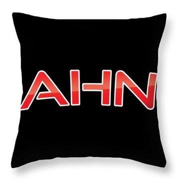 Ahn Throw Pillow