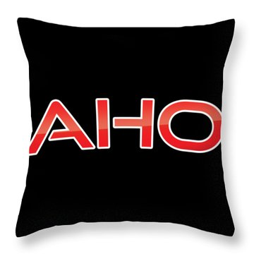 Aho Throw Pillow