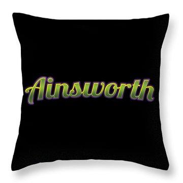 Ainsworth #ainsworth Throw Pillow