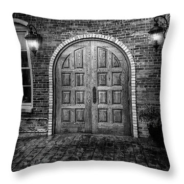 Alehaus Bw Throw Pillow