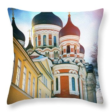 Eastern Orthodox Throw Pillows