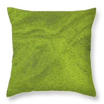 Algal Bloom Throw Pillow