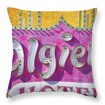 Throw Pillow featuring the photograph Algiers by Skip Hunt