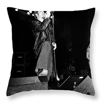Layne Staley Throw Pillows
