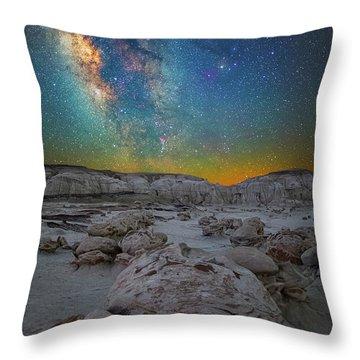 Alien Bonus Throw Pillow