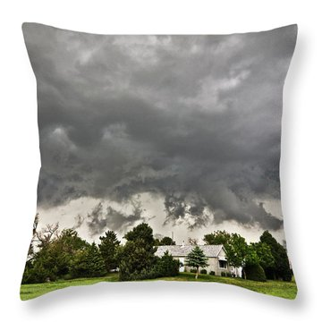 Alive Sky In Wyoming 2 Throw Pillow