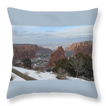 All About The Depth Throw Pillow
