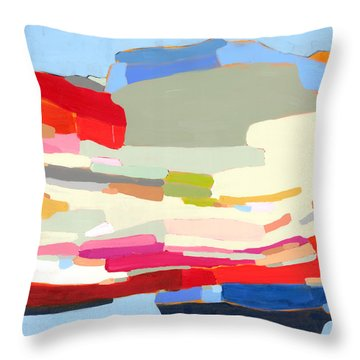All In The Plan Throw Pillow