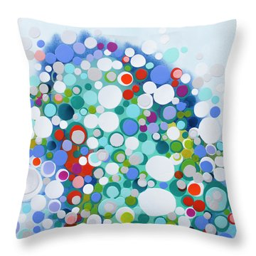 All Of The Night Throw Pillow