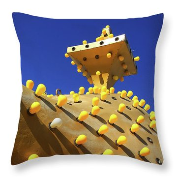 Throw Pillow featuring the photograph Alladin by Skip Hunt