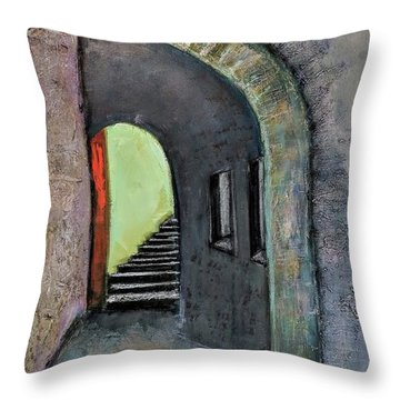 Alley Jaffa Throw Pillow