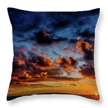 Almost A Painting Throw Pillow