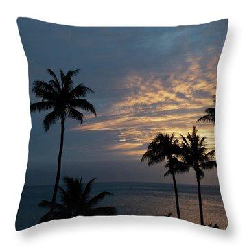 Aloha And Goodbye Throw Pillow