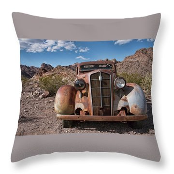 Alone In Nelson  Throw Pillow