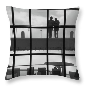 Alone. Together Throw Pillow