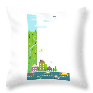 Cloud Type Throw Pillows