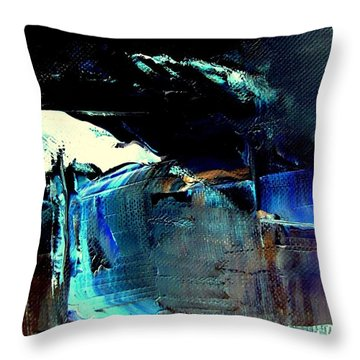 Alps Above Worthersee  -  Austria Throw Pillow