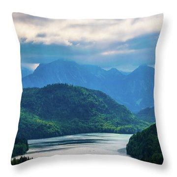 Alpsee Throw Pillow