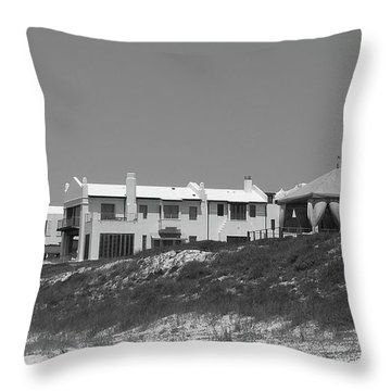 Alys Beach View Throw Pillow