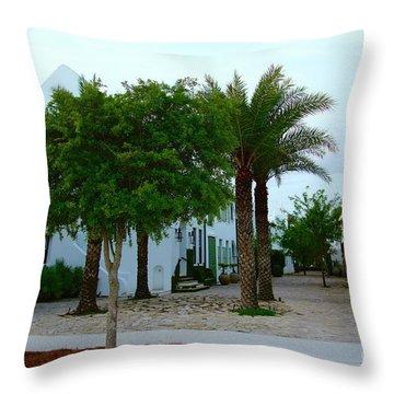 Alys Streetscape 2 Throw Pillow
