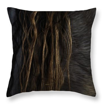 Throw Pillow featuring the photograph Americano 11 by Catherine Sobredo