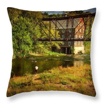 Ammerman Mill Throw Pillow