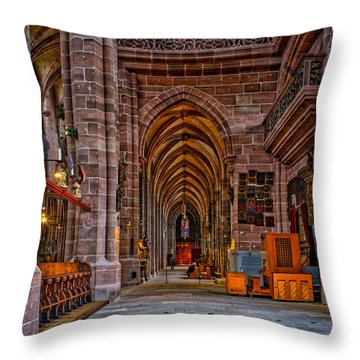 Amped Up Arches Throw Pillow