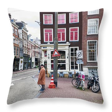 Amsterdam Pride Throw Pillow