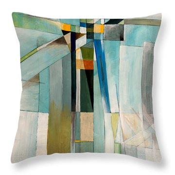 Cubist Throw Pillows