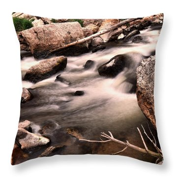 An Easy Flow Throw Pillow