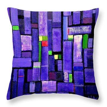 An Iris For The Master Throw Pillow