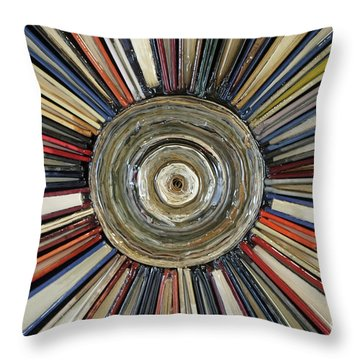 An Unbroken Loop Throw Pillow
