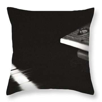 Throw Pillow featuring the photograph Analog by Carl Young