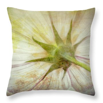 Ancient Flower Throw Pillow