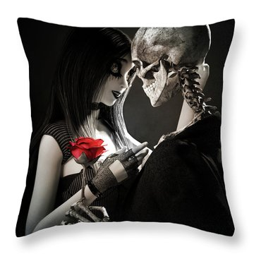 Ancient Love Throw Pillow
