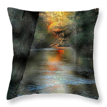 And Autumn Comes  Throw Pillow