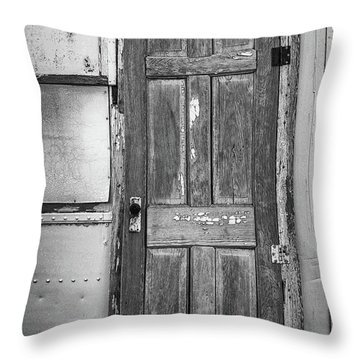 And Back On The Farm Throw Pillow