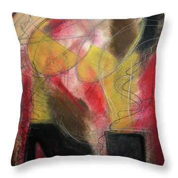 Angel At The Beach Throw Pillow