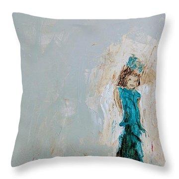 Angel Child Throw Pillow