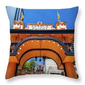 Large City Throw Pillows