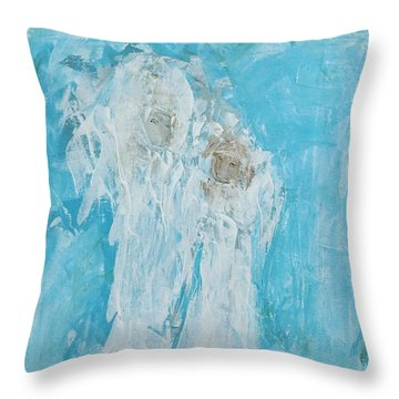 Angles Of Dreams Throw Pillow
