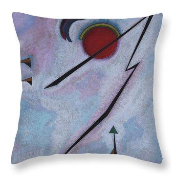 Angular Line - Linea Angolare, 1930 Throw Pillow