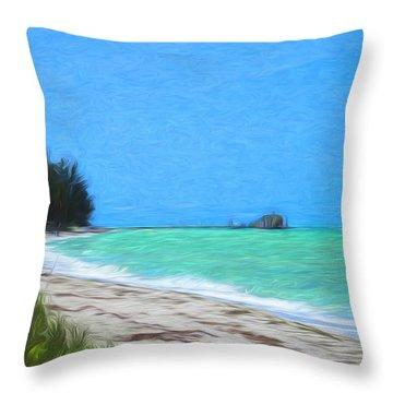 Anna Maria North Shore Throw Pillow