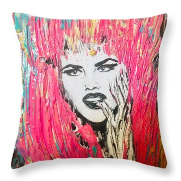 Anna Nicole Throw Pillow
